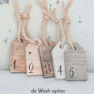 gastenboek van hout klein