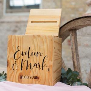 houten enveloppenbox